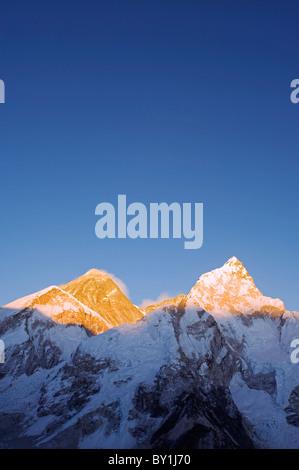 Asia, Nepal, Himalayas, Sagarmatha National Park, Solu Khumbu Everest Region, Unesco World Heritage, Mt Everest - Stock Photo