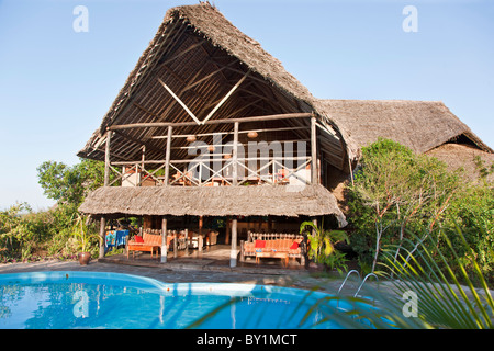 Tanzania dar es salaam bagamoyo house detail stock photo 31811505 alamy for Swimming pools in dar es salaam