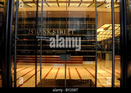 25 Bank Street, Canary Wharf, London - Stock Photo