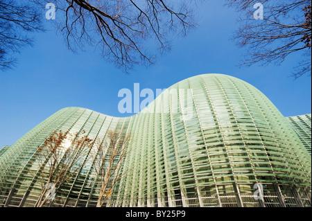 Asia, Japan, Tokyo, Roppongi ward, National Art Centre, NACT, designed by Kisho Kurokawa (2007) - Stock Photo