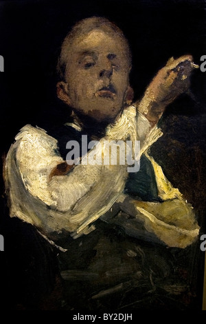 George Hendrik Breitner  Dutch Netherlands painter painting  self portrait 1882 - Stock Photo