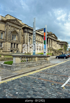 Liverpool World Museum in William Brown Street Liverpool England - Stock Photo