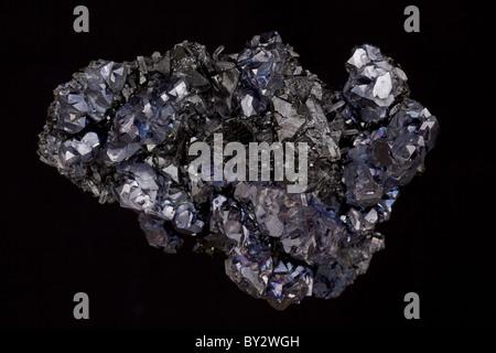 Galena -The primary ore of lead and Sphalerite the primary ore of zinc - Madan - Bulgaria - Stock Photo