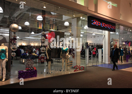2b bebe outlet store in Vaughan Mills Mall in Toronto, Canada 2010 - Stock Photo