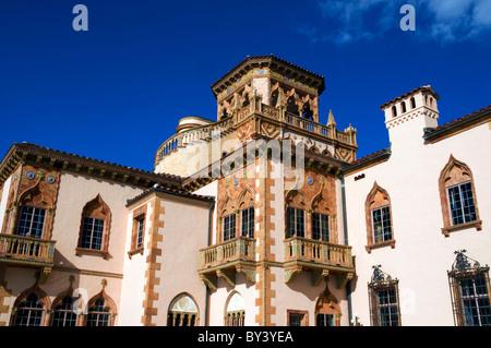 Ca' d'Zan Mansion, Ringling Museum of Art, Sarasota, Florida, USA. - Stock Photo
