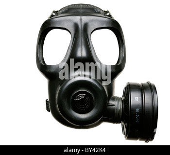 Gas Mask, Cut Out, Close Up. - Stock Photo