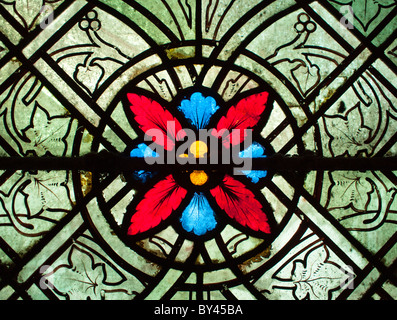 Stained Glass Design - Stock Photo