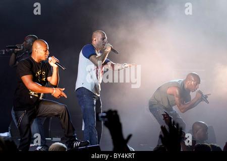 French hip hop band IAM - Stock Photo