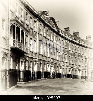 Camden Crescent Bath Somerset UK - Stock Photo