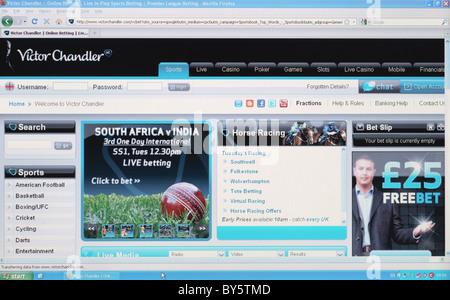 Oddschecker Desktop Site
