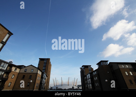 The O2, in the docklands. London - Stock Photo