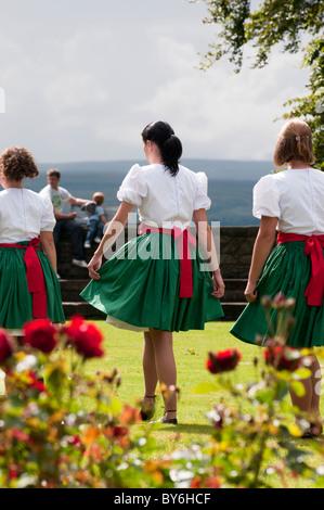 Dancers Stirling Castle - Stock Photo