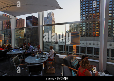 ... ROOF, Rooftop Bar And Grill, The Wit Hotel, Chicago, Illinois, USA