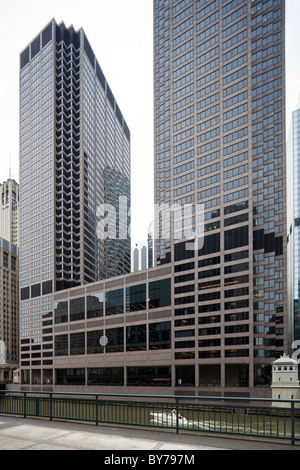 Chicago Mercantile Exchange Center, Illinois, USA - Stock Photo