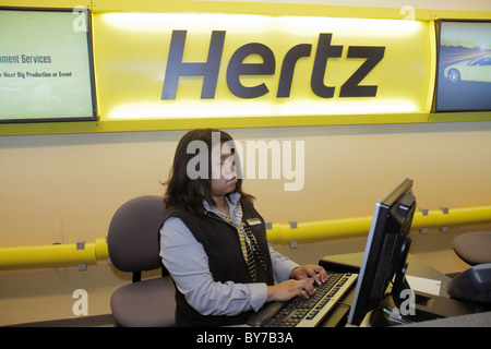 Hertz Car Rental Brisbane International Airport