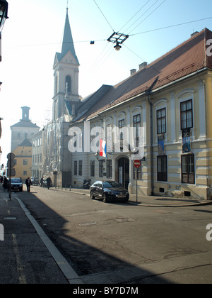 Museum of naive art, Zagreb, Croatia - Stock Photo