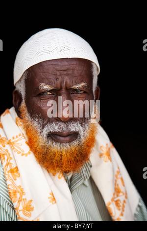 Trader at Hargeisa market, Somaliland - Stock Photo