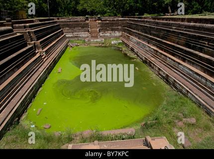 Pool in Anuradhapura - Stock Photo
