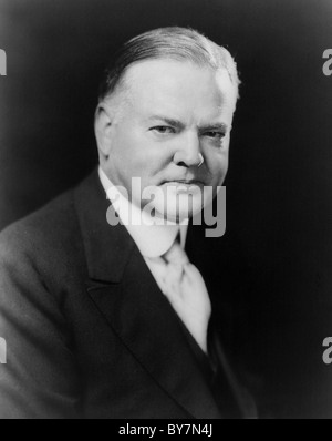 Herbert Clark Hoover was the 31st President of the United States (1929–1933). - Stock Photo