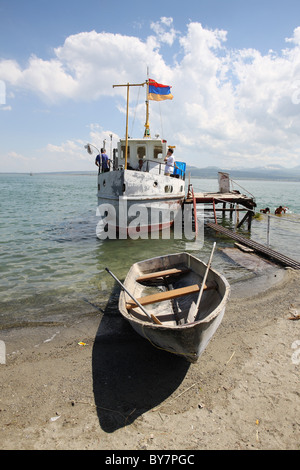 Armenia, 20100628, A boot on the Lake Sevan  © Gerhard Leber - Stock Photo