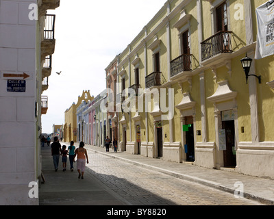 Campeche,Golfo de Mexico,Mexico - Stock Photo