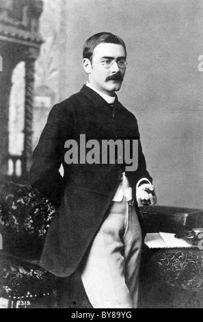 RUDYARD KIPLING (1865-1936) English poet and short story writer - Stock Photo