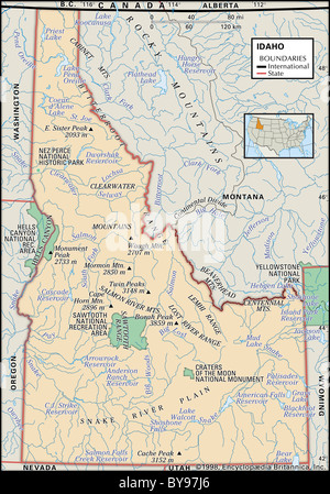 USA Idaho Nez Perce National Historical Park Spalding Church