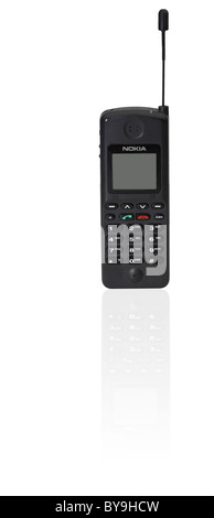 Nokia NHK-1XA mobile phone in studio shot - Stock Photo