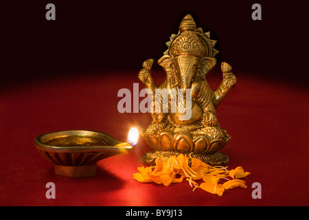 Ganesh idol - Stock Photo