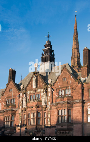 Coventry City Hall with the Cathedral in the background. West Midlands, UK. - Stock Photo