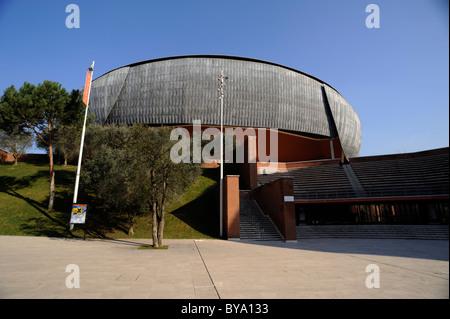 italy, rome, auditorium parco della musica, architect renzo piano Stock Photo