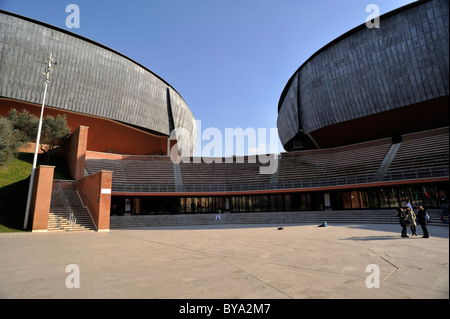 italy, rome, auditorium parco della musica, architect renzo piano Stock Photo