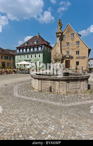 germany baden wurttemberg weikersheim view of twisting country stock photo royalty free. Black Bedroom Furniture Sets. Home Design Ideas