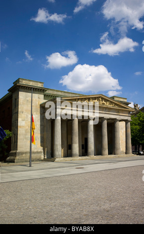 Neue Wache, New Guard House, the Central Memorial of the Federal Republic of Germany for the Victims of War and - Stock Photo