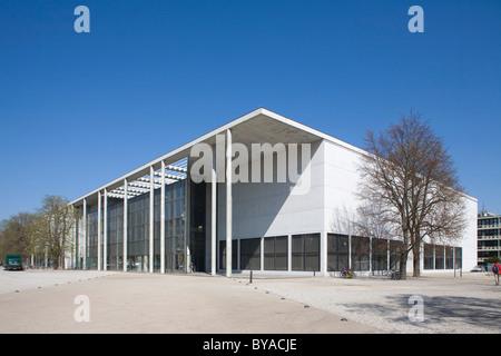 Pinakothek der Moderne, art museum in the Maxvorstadt district, Munich, Bavaria, Germany, Europe - Stock Photo