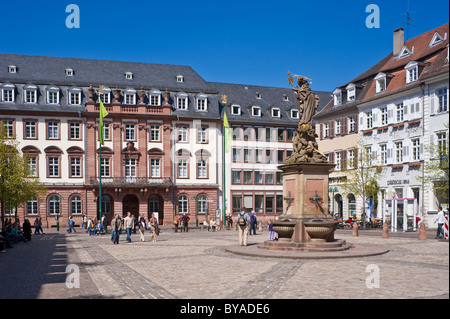 old town hall and fountain heidelberg gauteng province republic of stock photo 136956151 alamy. Black Bedroom Furniture Sets. Home Design Ideas