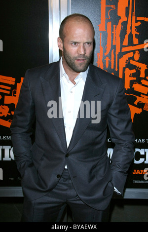 JASON STATHAM THE MECHANIC PREMIERE. CBS FILMS HOLLYWOOD LOS ANGELES CALIFORNIA USA 25 January 2011 - Stock Photo
