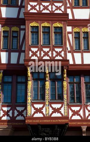 brustungsgelander haus grosser engel building historic half timbered house ostzeile roemerberg frankfurt ideas for business blog posts