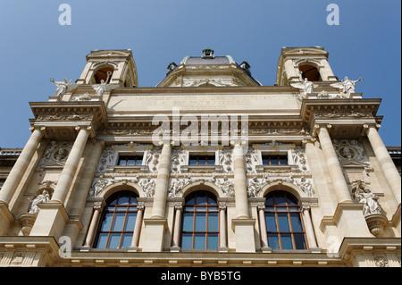 Museum of Natural History, Maria Theresienplatz square, 1st district, Vienna, Austria, Europe - Stock Photo