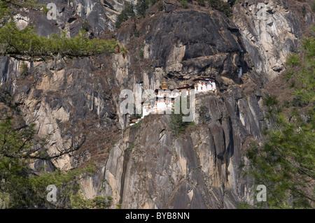 Taktshang Goemba, Tiger's Nest Monastery, Bhutan, Asia - Stock Photo