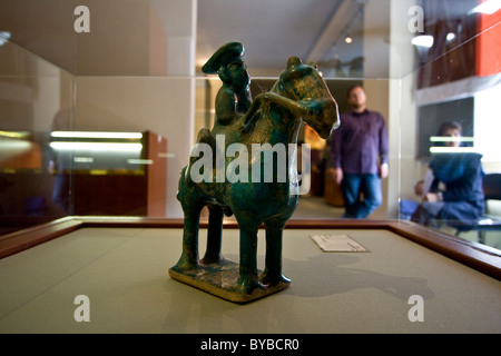 Figurine at the National Museum of Iran or the Iran Bastan Museum in Tehran - Stock Photo