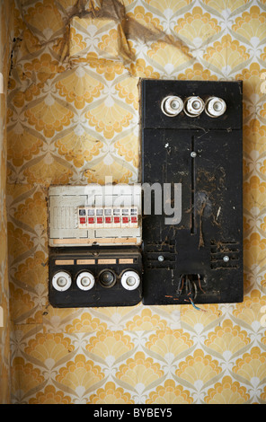 old fuse box bybey5 old fuse box stock photo, royalty free image 88544619 alamy  at edmiracle.co