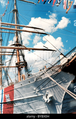 U.S. Coast Guard training ship the Eagle, a WW II war prize from Nazi Germany called then the Horst Wessel - Stock Photo