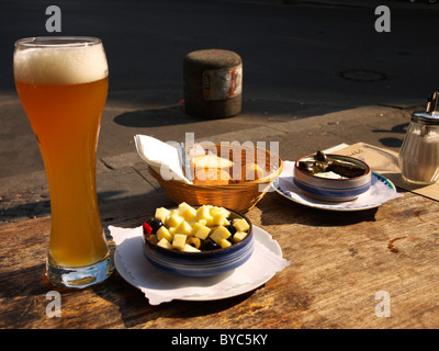 Afternoon snack, Germany - Stock Photo