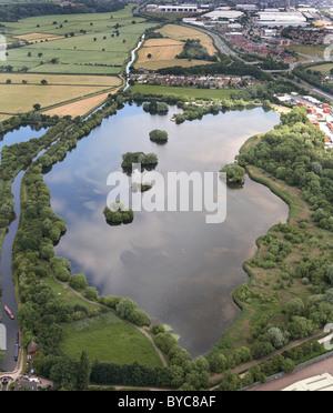 Branston water Park staffordshire england - Stock Photo