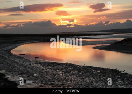 Estuary reflections 4 - Stock Photo