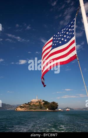 Alcatraz Island, San Francisco, CA - Stock Photo