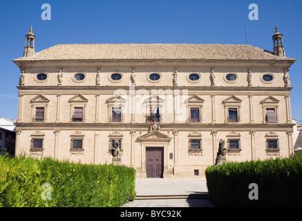 Ubeda, Jaen Province, Spain. Palacio Vazquez de Molina or Palacio de las Cadenas. - Stock Photo