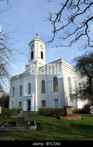 Bilston in the West Midlands England Uk St Leonards Church - Stock Photo