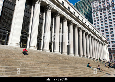 The General Post Office, New York City, America, USA - Stock Photo